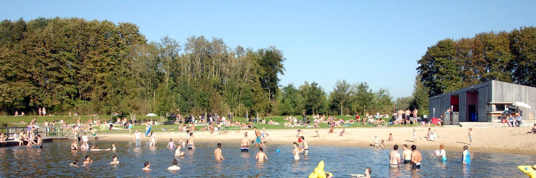 Zwemzone Provinciaal domein De Gavers